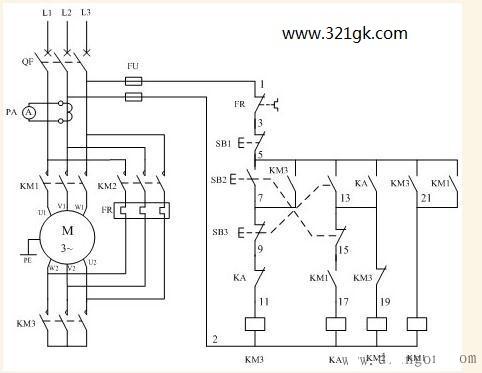 三相异步电动机星角启动相电流和线电流之间的