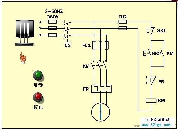电气控制配电柜内电气元件和符号大全(一)