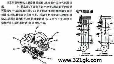 空气等离子切割机原理及维修方法 切割机接线图