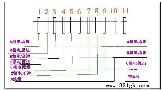单相电表进线和出线颠倒接反会怎么样 单相三相四线电表接线?