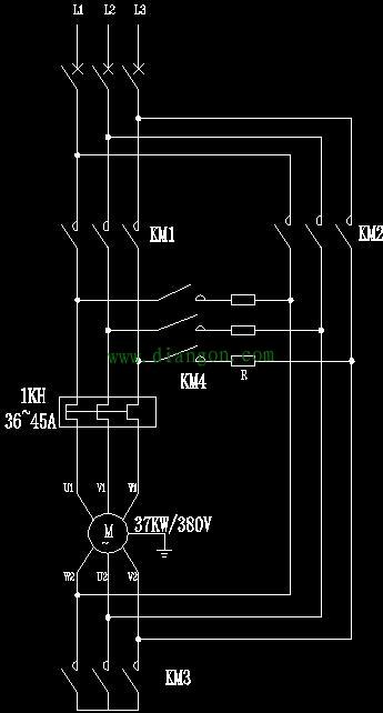 星三角起动另一种形式-闭式星三角电路 为什么说瞬间接通电阻?讲解